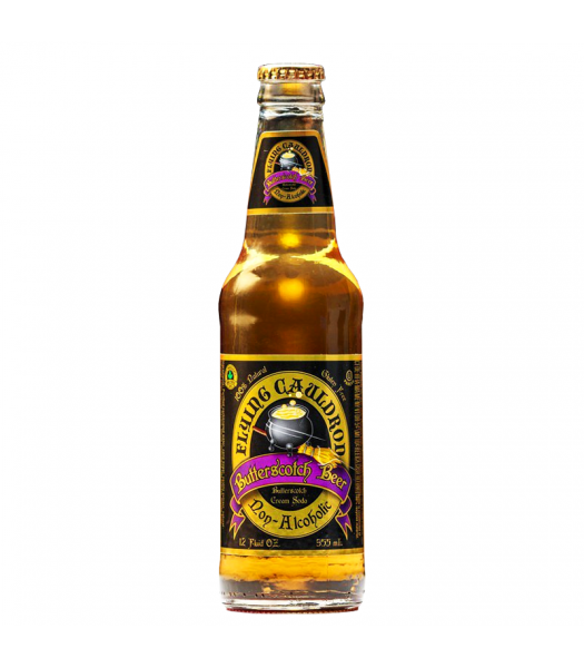 Flying Cauldron Butterscotch Beer Soda 12oz (355ml) Regular Soda Harry Potter