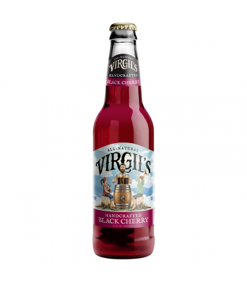 Virgil's Handcrafted Black Cherry Soda - 12fl.oz (355ml) Soda and Drinks Virgil's