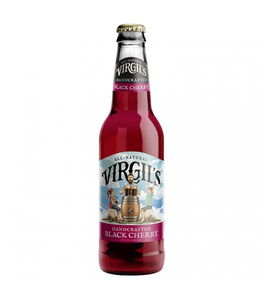Virgil's Handcrafted Black Cherry Soda - 12fl.oz (355ml) Soda and Drinks Virgil's