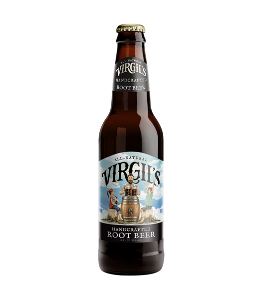 Virgil's Handcrafted Root Beer - 12fl.oz (355ml) Soda and Drinks Virgil's