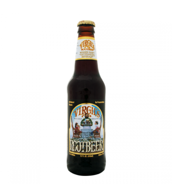 Virgils Root Beer 12oz (355ml) Regular Soda Virgil's