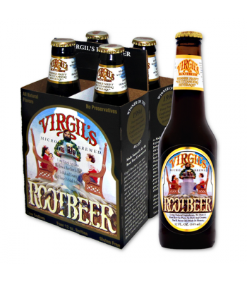 Virgil's Root Beer 12fl.oz (355ml) - 4 PACK  Soda and Drinks Virgil's