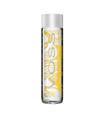 Voss Lemon Cucumber Sparkling Water Glass Bottle 375ml
