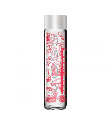 Voss Strawberry Ginger Sparkling Water Glass Bottle 375ml