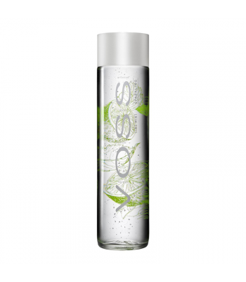 Voss Lime Mint Sparkling Water Bottle 330ml