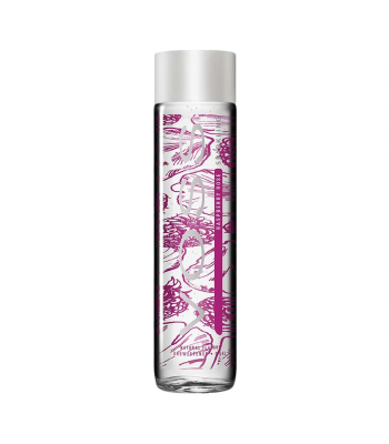Voss Raspberry Rose Sparkling Water Bottle 330ml Soda and Drinks