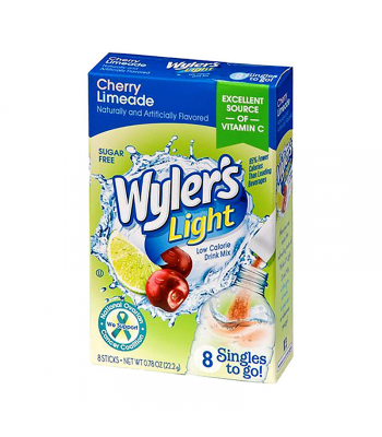 Wyler's Light Singles To Go Cherry Limeade 8-Pack - 0.78oz (22.2g) Soda and Drinks