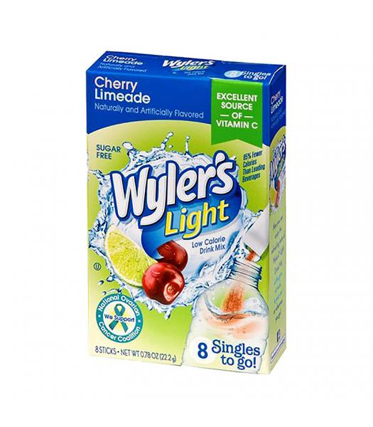 Wyler's Light Singles To Go Cherry Limeade 8-Pack - 0.78oz (22.2g) Soda and Drinks