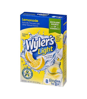 Wyler's Light Singles To Go Lemonade 8-Pack - 1.09oz (30.9g) Soda and Drinks