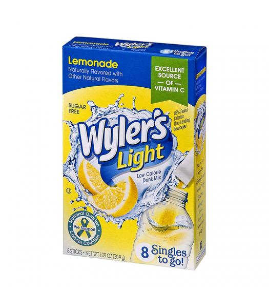 Wyler's Light Singles To Go Lemonade 8-Pack - 1.09oz (30.9g) Soda and Drinks