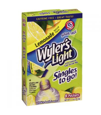 Wylers Light Singles To Go - Lemonade 8PK