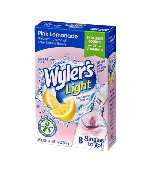 Wyler's Light Singles To Go Pink Lemonade 8-Pack - 1.09oz (30.9g) Soda and Drinks