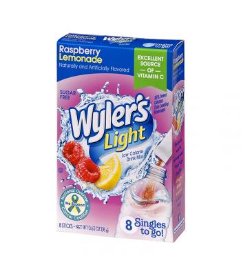 Wyler's Light Singles To Go Raspberry Lemonade 8-Pack - 0.63oz (18g) Soda and Drinks
