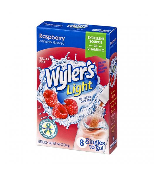 Wyler's Light Singles To Go Raspberry 8-Pack - 0.41oz (11.6g) Soda and Drinks