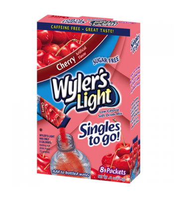 Wylers Light Singles To Go - Cherry 8PK