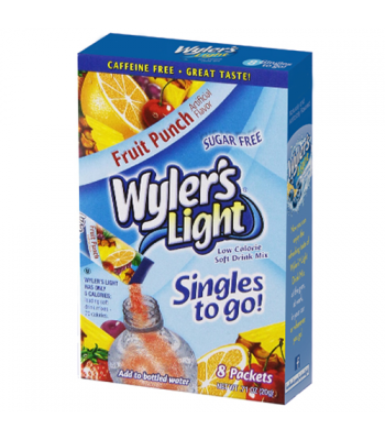 Wylers Light Singles To Go - Fruit Punch 8PK