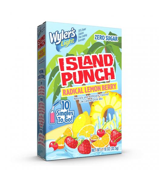 Wyler's Light Singles To Go Island Punch Radical Lemon Berry 10-Pack - 0.91oz (25.8g) Soda and Drinks
