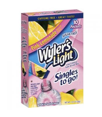 Wylers Light Singles To Go - Pink Lemonade 8PK