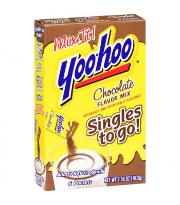 Yoo Hoo 2 Go Chocolate Mix 6 Pack  Drink Mixes Yoo-Hoo