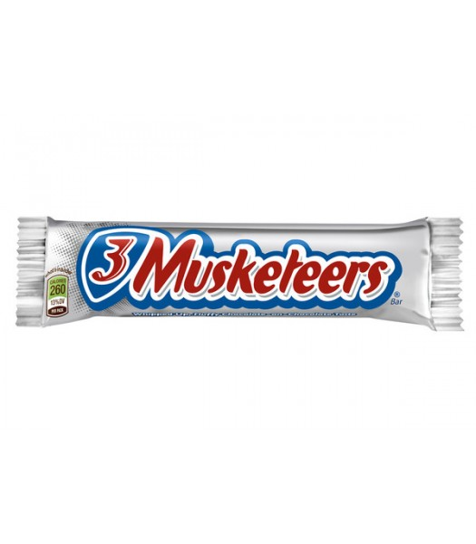 3 Musketeers Chocolate Bar 1.92oz (54g) Chocolate, Bars & Treats 3 Musketeers