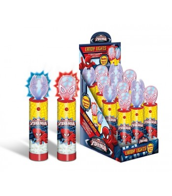 Spiderman Light Up Candy Novelty Candy
