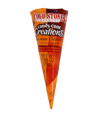 Clearance Special - Cold Stone Candy Cone Creations - Chocolate Creamy 0.88 (25g) **February 17** Clearance Zone