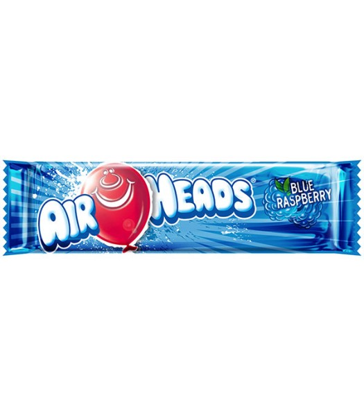 Airheads - Blue Raspberry - 15.6g Soft Candy AirHeads