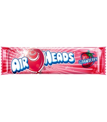 Airheads - Strawberry - 15.6g Soft Candy AirHeads