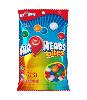 Airheads Bites Fruit - 6oz (170g) Sweets and Candy Airheads