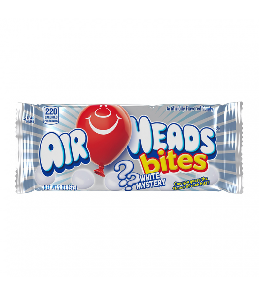 Airheads Bites White Mystery 2oz (57g) Sweets and Candy Airheads