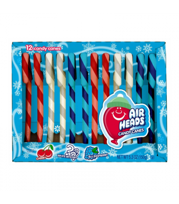 Airheads Candy Canes - 5.3oz (150g) Sweets and Candy Airheads