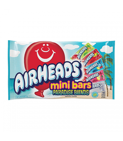 Airheads Mini Bars Paradise Blend - 12oz (340g) Sweets and Candy Airheads