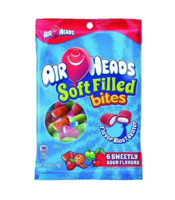 Airheads Soft Filled Bites - 6oz (170g) Soft Candy Airheads