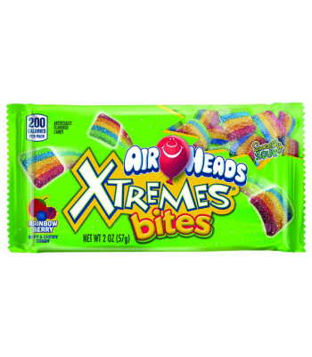 Airheads Xtremes Bites - Rainbow Berry - 2oz (57g) Soft Candy Airheads