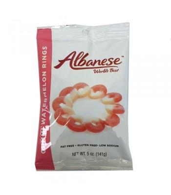 Albanese Gummi Watermelon Rings 5oz (141g) Soft Candy Albanese