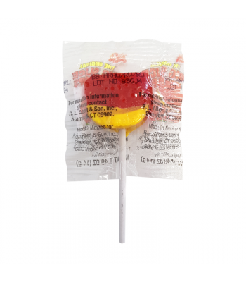 Alberts Big Slice Pops Cherry - 0.49oz (14g) Sweets and Candy