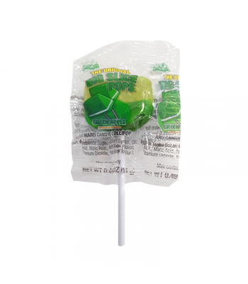 Alberts Big Slice Pops Green Apple - 0.49oz (14g) Sweets and Candy