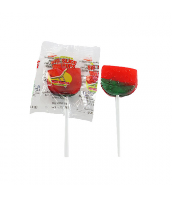 Albert's Big Slice Pops - Watermelon - 0.42oz (11.9g) Sweets and Candy