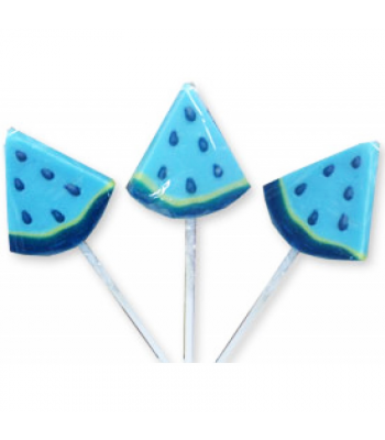 Albert's Blue Raspberry Wedge Lollipop Lollipops