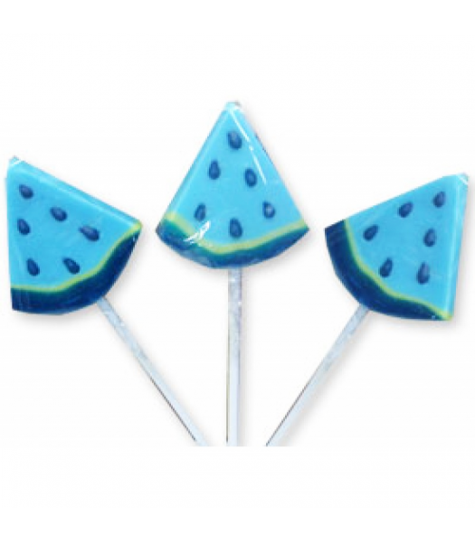 Alberts Big Slice Sour Pops Blue Raspberry - 0.42oz (11.9g) Sweets and Candy