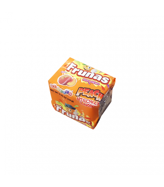 Albert's Frunas Fruit Chews Peach 4pc - 0.35oz (10g) Sweets and Candy
