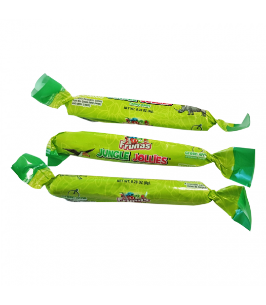 Albert's Frunas Jungle Jollies Green Apple - 0.28oz (8g) Sweets and Candy