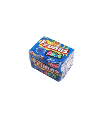 Alberts Frunas Sour Blue Raspberry - 0.35 oz (18g) Sweets and Candy