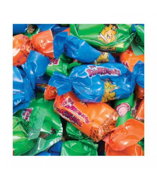 Alberts - The Flintstones Fruit Chews x 10 Sweets and Candy