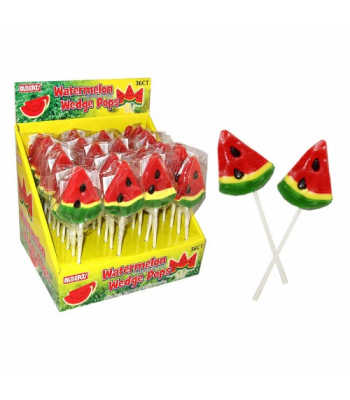 Albert's Watermelon Wedge Lollipop Lollipops