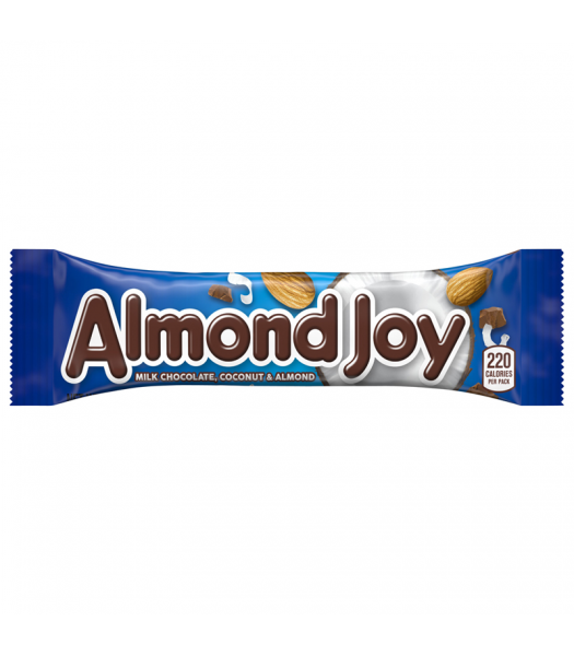 Hershey's Almond Joy Bar 1.61oz (45g) Sweets and Candy Hershey's