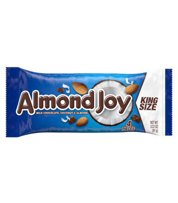 Clearance Special - Hershey's Almond Joy Bar King Size 3.22oz (91g) **Best Before: Nov 19** Clearance Zone