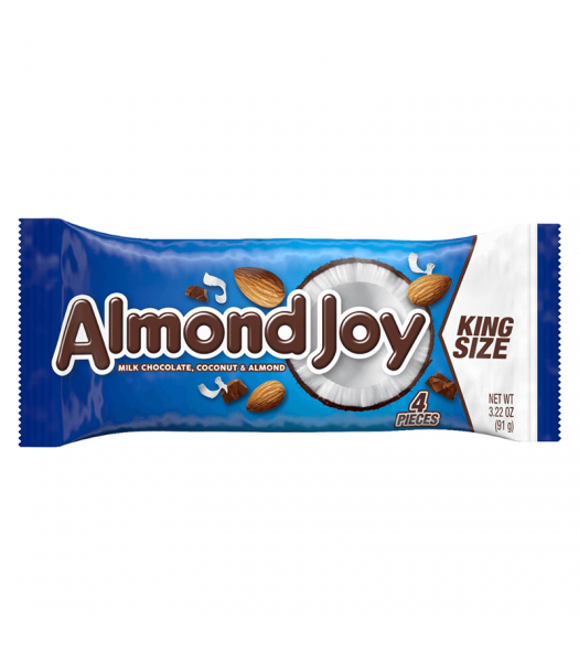 Hershey's Almond Joy Bar King Size 3.22oz (91g) Sweets and Candy Hershey's