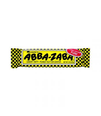 Annabelle's Abba Zaba Taffy and Peanut Butter Bar 1.8oz (51g) Chocolate, Bars & Treats Annabelle