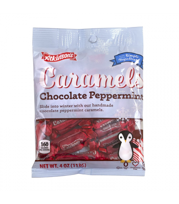 Atkinson's Caramels Chocolate Peppermint - 4oz (113g) [Christmas] Sweets and Candy
